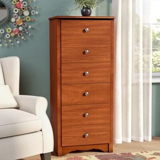 Andover Mills Hayman 6 Drawer Lingerie Chest Color: Cherry