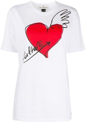 Vivienne Westwood graphic print cotton T-shirt