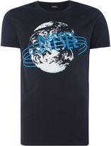 Diesel Diesel World Crew Neck T-shirt
