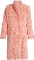 Preen by Thornton Bregazzi Candy curly-shearling coat