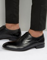 Base London Holmes Leather Oxford Shoes