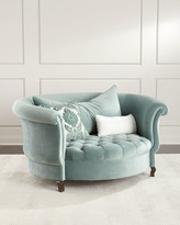 Haute House Harlow Sage Cuddle Chair