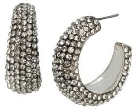 Jessica Simpson Pave Hoop Earrings