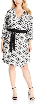 Melissa Masse Women's Wrap Dress