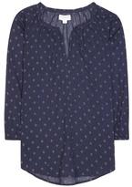 Velvet Berlina printed cotton blouse