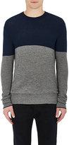 Rag & Bone Men's Camden Cashmere Sweater-NAVY