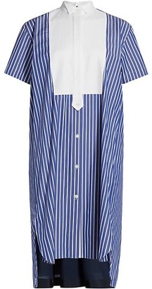 Sacai Cotton Poplin Shirtdress
