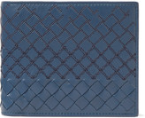 Bottega Veneta - Embroidered Intrecciato Leather Billfold Wallet