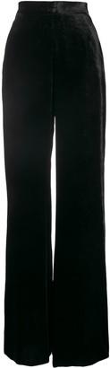 Etro Velvet Wide-Leg Trousers