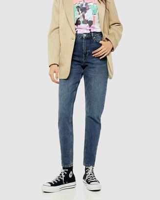 Topshop Petite PETITE Mom Jeans