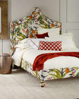 Old Hickory Tannery Bryony Floral Queen Bed