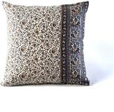 HomeMint Bohemian Paisley Pillow Gray