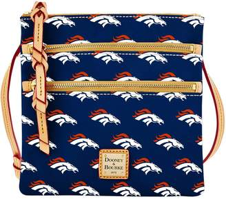 Dooney & Bourke NFL Broncos Triple Zip Crossbody