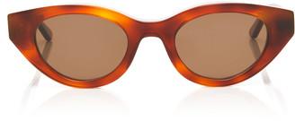 Thierry Lasry Acidity Cat-Eye Tortoiseshell Acetate Sunglasses