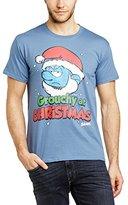 Sesame Street Men's 235.Talk Dirty to Me Crew Neck Short Sleeve T-Shirt