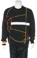 Givenchy Abstract Print Sweatshirt