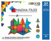 Magna-Tiles® Clear Colors 37 Piece Set