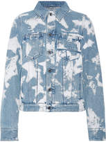 Givenchy Bleached Denim Jacket - Light denim