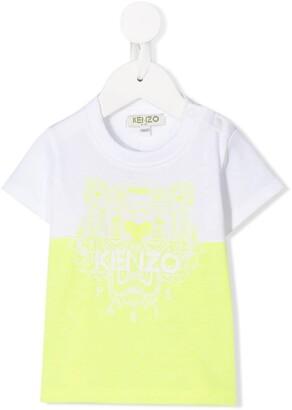 Kenzo Kids tiger logo T-shirt