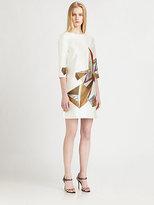 Prabal Gurung Cubist Print Dress