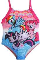 Hasbro Little Toddler Girls My Little Pony Character One Pc Swimsuit