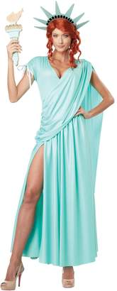 California Costumes Women's Lady Liberty Adult