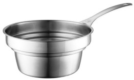 Le Creuset 2.2-Qt. Stainless Steel Double Boiler Insert