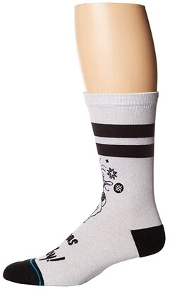 Stance Vegas Baby (Grey) Men's Crew Cut Socks Shoes
