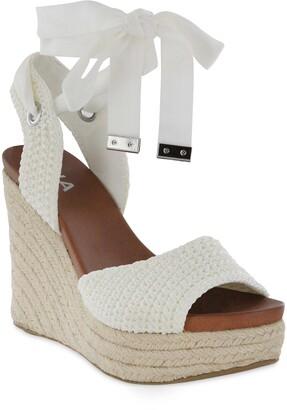Mia Yanet Espadrille Platform Wedge Sandal
