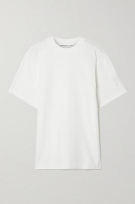 Alexander Wang Oversized Printed Cotton-blend Jersey T-shirt