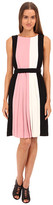 Kate Spade Color Block Pleated Dress