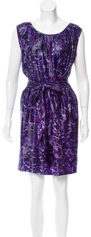 Marc Jacobs Silk Printed Dress