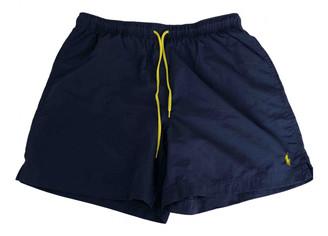Polo Ralph Lauren Blue Polyester Swimwear