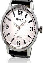 OMAX Analog White Dial Men's Watch - TS221