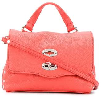 Zanellato Postina stud-embellished tote bag