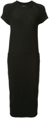 James Perse Stretch Jersey Blouson Dress