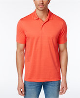 Club Room Men's Textured-Stripe Performance Polo, Created for Macy's