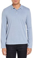 James Perse Trim Fit Long Sleeve Polo