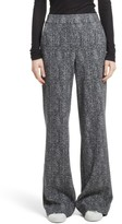 Theory Women's Talbert Herringbone Wide Leg Pants