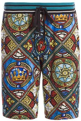 Dolce & Gabbana King Tile Shorts