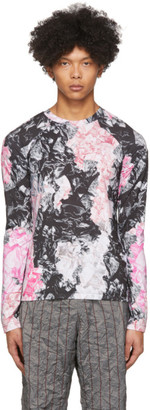 Kanghyuk Multicolor Camo Airbag Long Sleeve T-Shirt