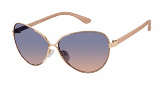 Tahari Women's TH733 Cat-Eye Sunglasses with 100% UV Protection 61 mm