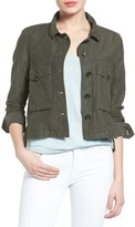 Petite Women's Caslon Swing Jacket