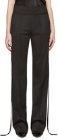 Givenchy Black Strap Trousers