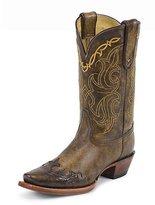 Tony Lama Boots Women's Bark Santa Fe VF6004 Boot