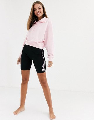 Asos Design DESIGN Barbie lounge jersey legging short-Black