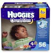 Huggies Overnites Diapers 56-Count Size 4 Big Pack Diapers
