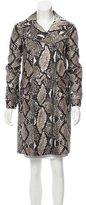 Diane von Furstenberg Sally Animal Print Coat