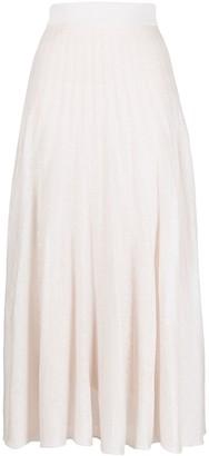 Agnona High-Waisted Skirt