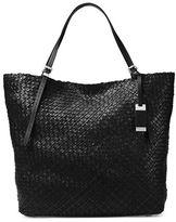 Michael Kors Basket-Weave Tote Bag
